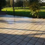 Pavimento giardino lavato da Pulicasa
