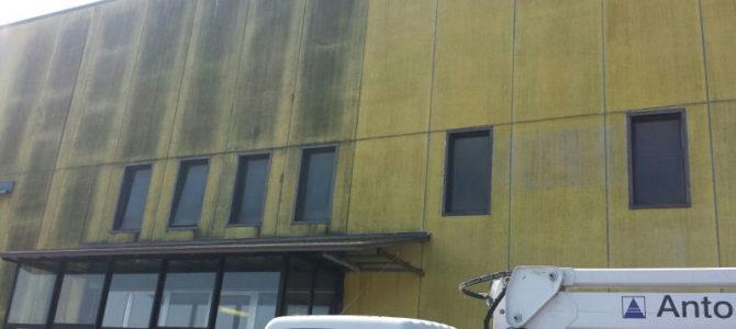 Pulizie di fondo a capannoni industriali