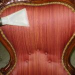 Lavaggio di un poltrona imbottita eseguita da Pulicasa