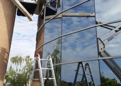 lavaggio vetrate esterne
