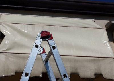 lavvaggio tende da sole in pvc