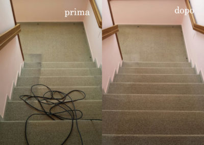 scala prima e dopo puizia