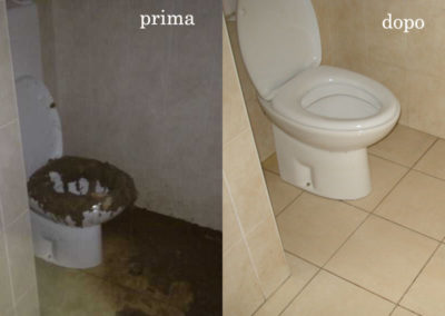 servizi igienici sanificati da Pulicasa