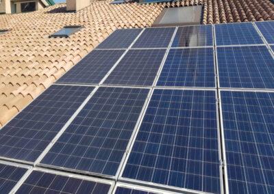 Pannelli fotovoltaici prima e dopo