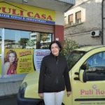 Chiandotto Rosanna titolare della ditta Pulicasa