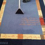 Lavaggio e aspirazione tappeto