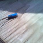 Pulizia della tenda da sole ad opera di Puliicasa