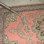 Risultato dopo la pulizia del tappeto eseguita da Pulicasa